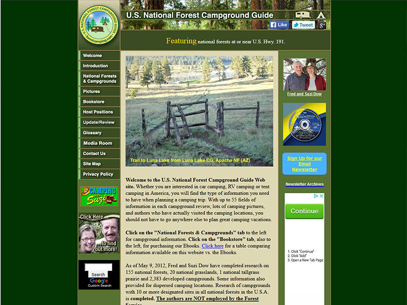 Map_Websites-ForestCamping_com