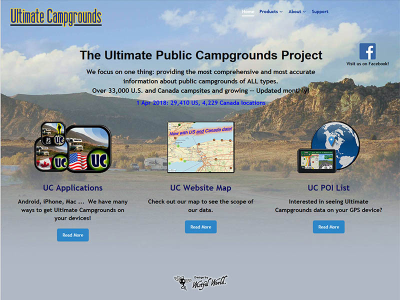 Map_Websites-UltimateCampgrounds_com
